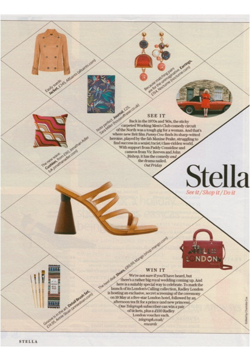 Annie Sloan's detail brushes and Jonathan Adler's Milano cushions are Stella shopping recommendations