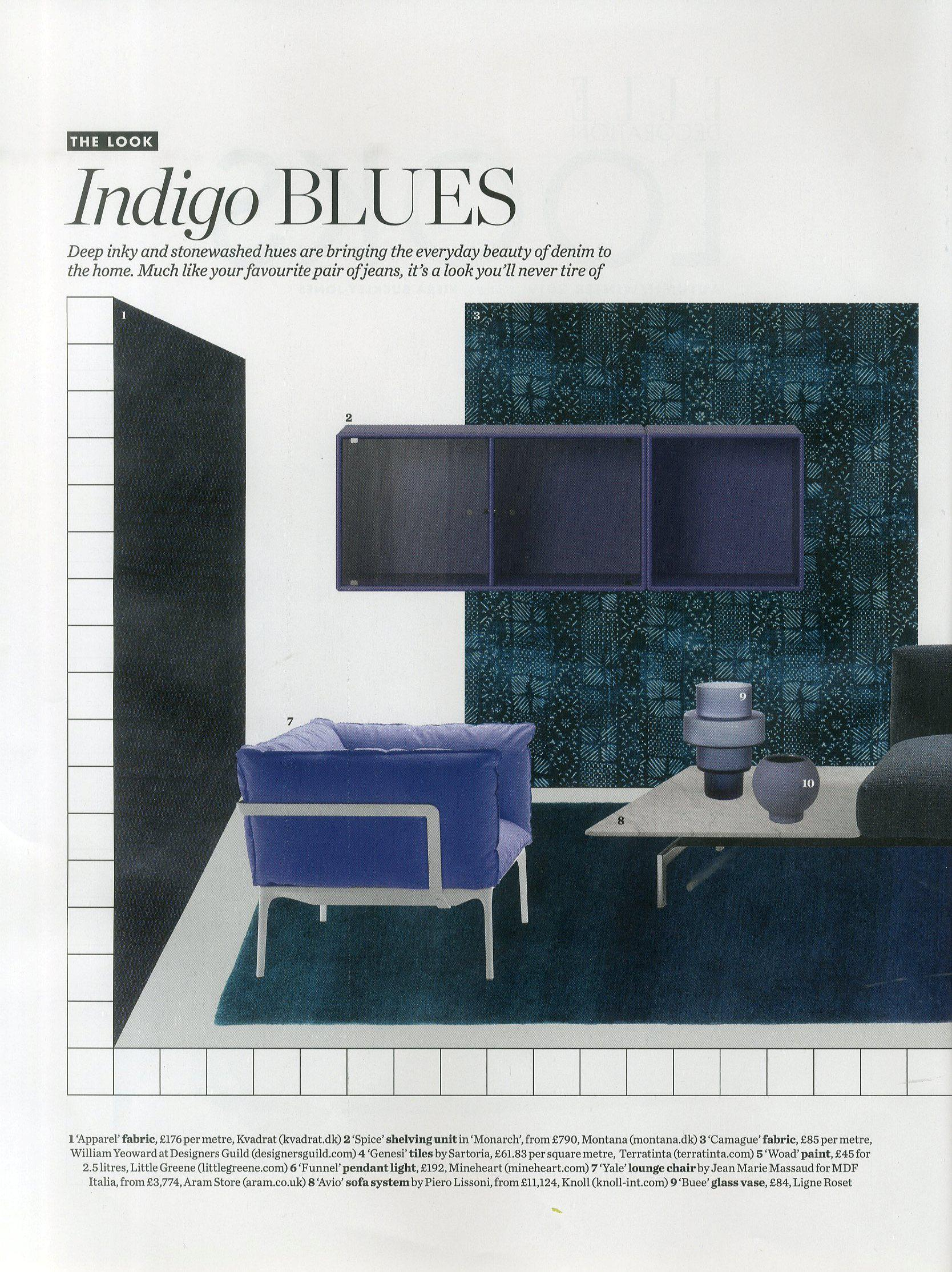 New season Ligne Roset glassware in Elle Deco's first look at the Autumn Winter trends