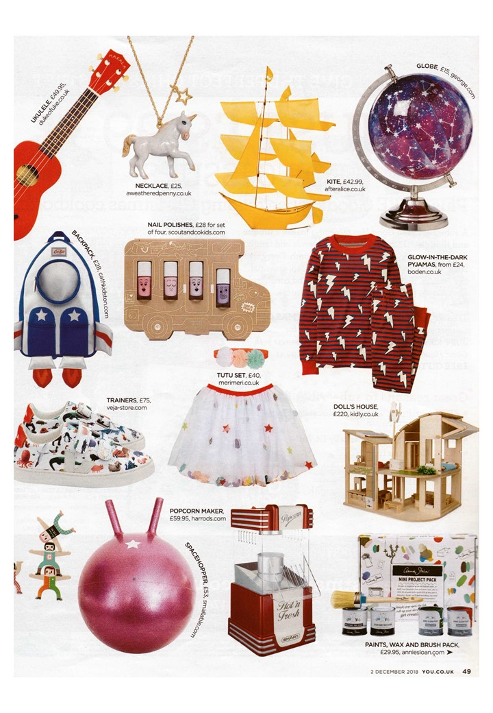 You Magazine suggests getting the kiddies creating with Annie Sloan's mini project pack