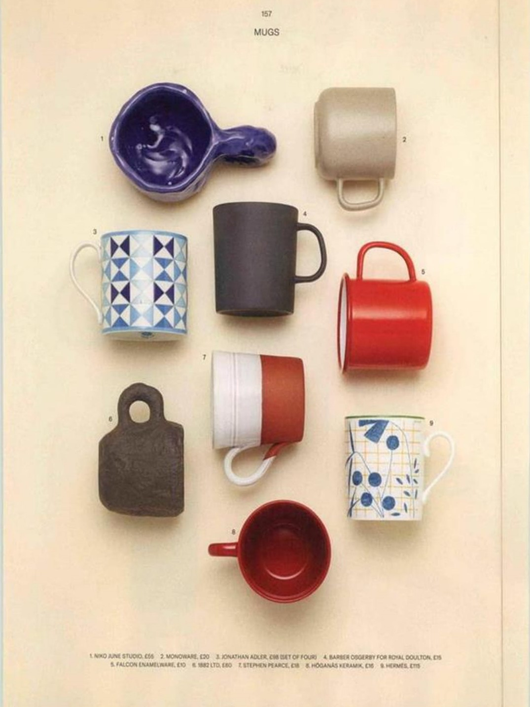 Don't be a mug - choose Jonathan Adler's Sorrento, as seen in Esquire