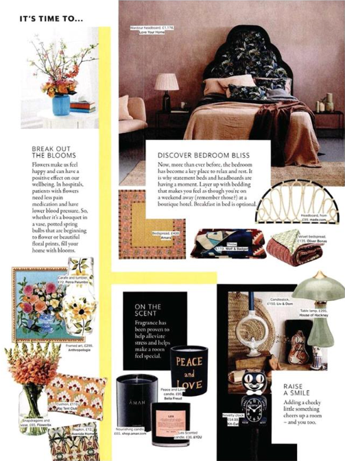 Grazia are dialling up the cheer with Raj Tent Club's Uzbeki embroidered cushion...