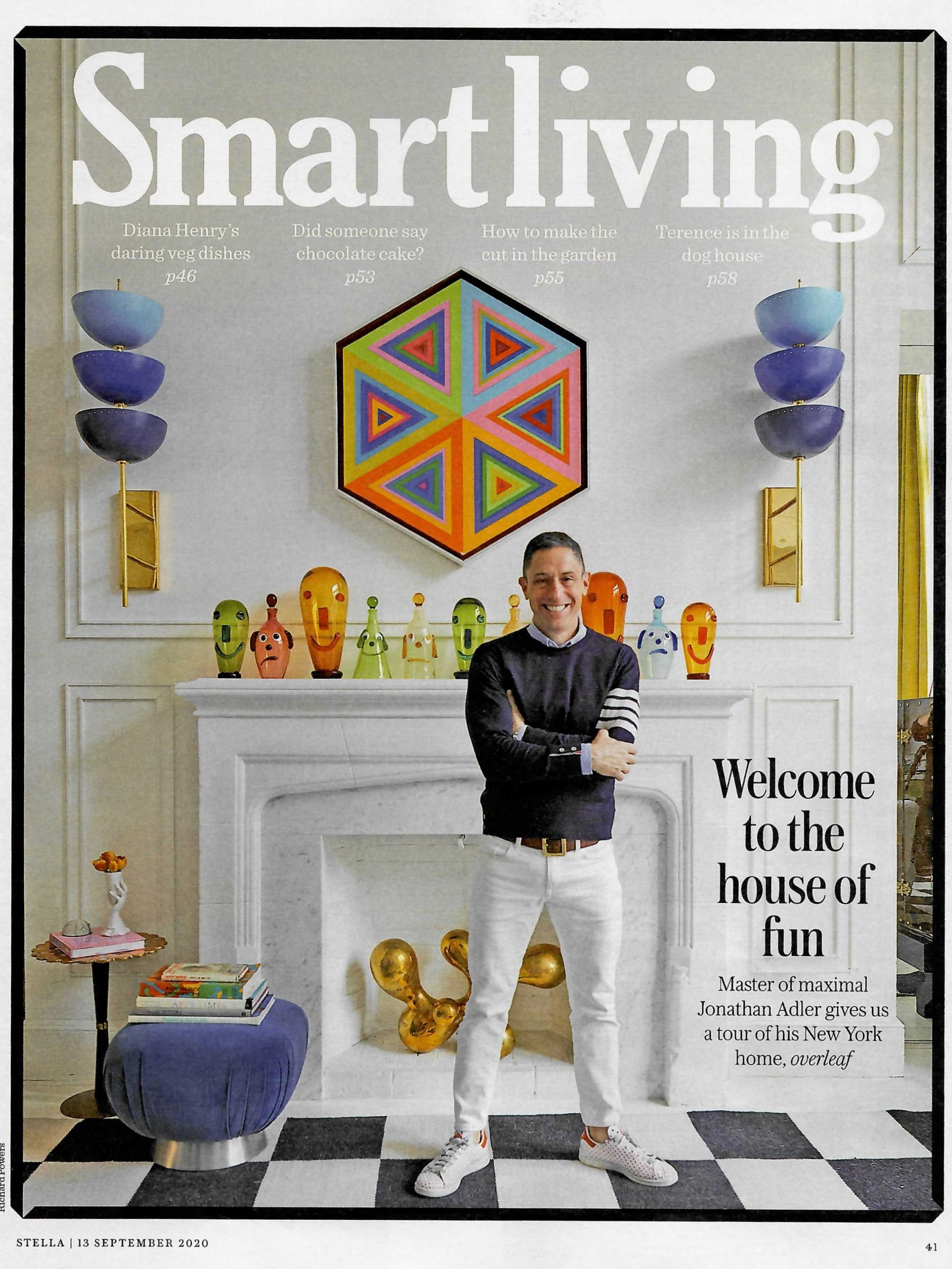 Master of maximalism Jonathan Adler gives Stella a tour of his New York home