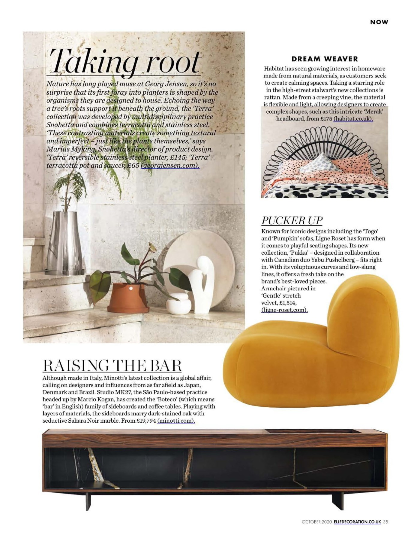 Pucker up as the Pukka takes centre stage once again, this time in Elle Decoration