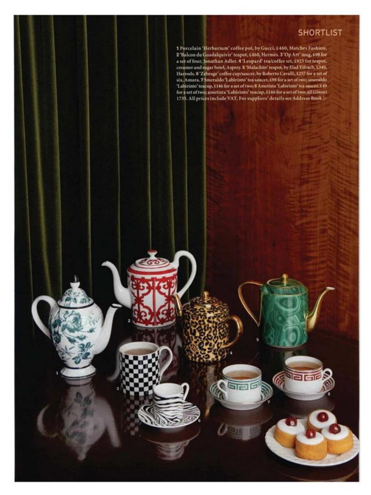 World of Interiors is stewing over Jonathan Adler's Op Art mug