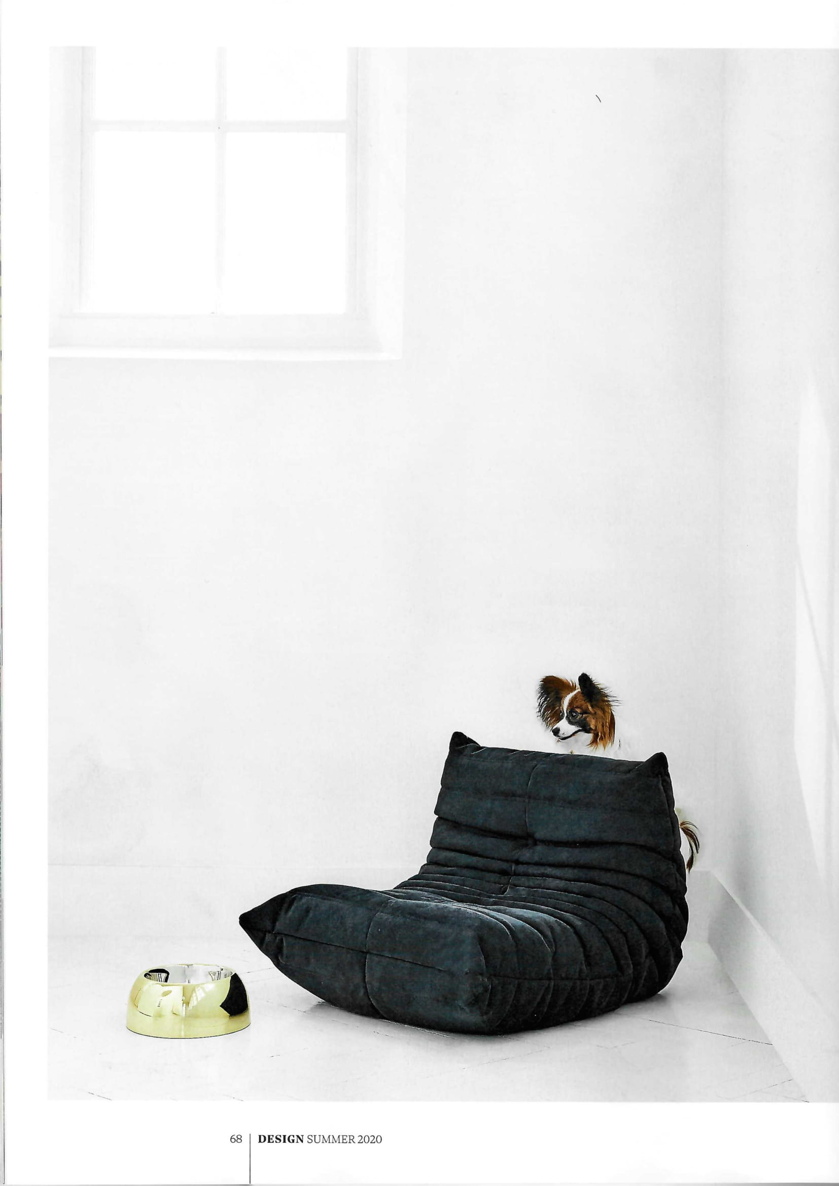 ...and Ligne Roset's iconic Togo chair, fit for high-class hounds