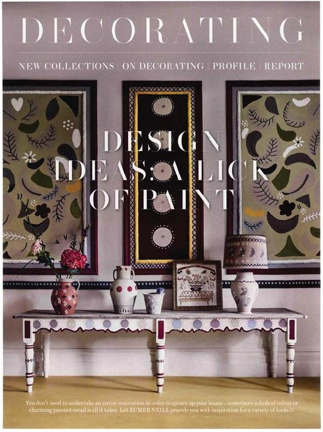 ...and second as the leading image in House & Garden's 'A lick of paint' feature